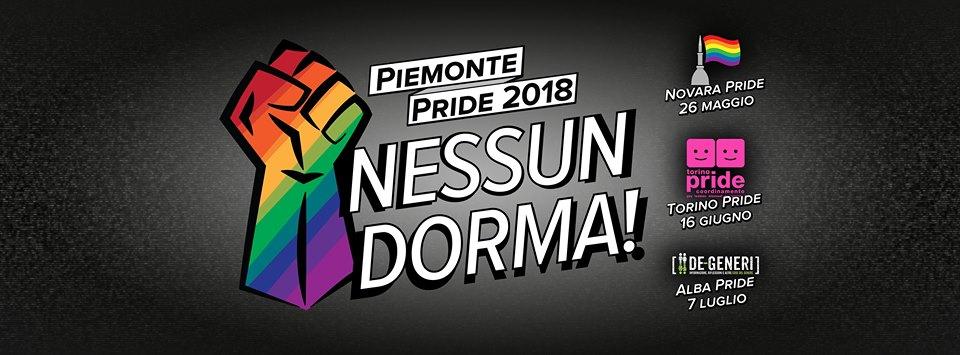 Piemonte Pride 2018 - Nessun Dorma!