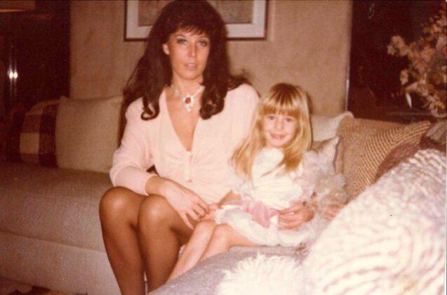 Patrizia de Blanck con figlia