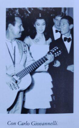 Patrizia de Blanck con Carlo Giovannelli