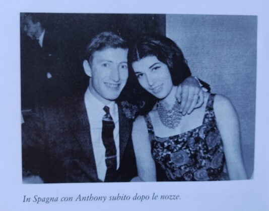 Patrizia de Blanck con Anthony