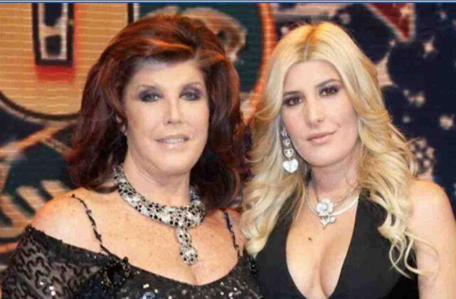 Patrizia de Blanck madre e figlia